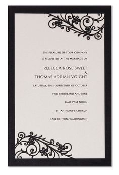 Romantica Laser Cut Wedding Invitations [PORomantica] - £4.50 : Wedding Invitations, Wedding Stationery, Handmade Wedding Invitations
