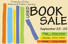Fall Book Sale - Providence Daily Dose
