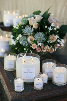 Behind the scenes at the new look Palm Beach Collection candles shoot #candles #palmbeach