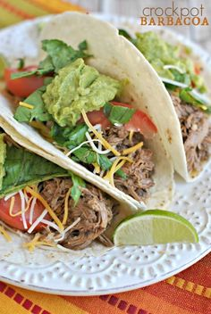 Crockpot Barbacoa recipe: easy, delicious...better than your take out version!