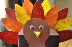 Adorable Turkey Crafts for Kids