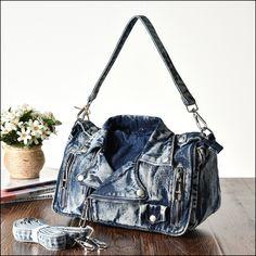 Denim Shoulder Bags, Bucket Bag, Store, Jeans, Larger, Shop, Denim, Denim Pants, Denim Jeans