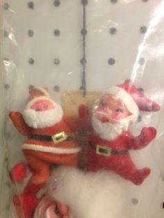 Vintage Christmas Santa Claus at Scranberry Coop Reuse, Upcycle, Antique Stores, Dog Friends, Vintage Christmas, Repurposed, Your Dog, Finding Yourself, Recycling