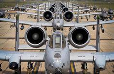 """A-10 Warthog  """"Elephant Walk""""  ©Photo by Tech. Sgt. Travis Edwards"""