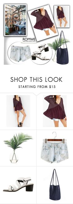 """""""Romwe"""" by april-lover ❤ liked on Polyvore featuring NDI"""