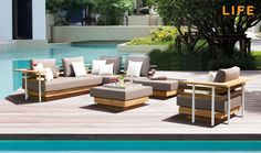 Lounge set London | Tuinmeubel Collectie | LIFE Outdoor Living