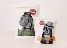 Personified Pup Branding - Vitale Dog Food Packaging Takes Canines Seriously (GALLERY)