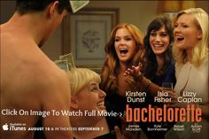 Here's the first trailer for Bachelorette which stars Kirsten Dunst, Isla Fisher, Lizzy Caplan and James Marsden. Tv Quotes, Movie Quotes, Bachelorette Movie, Kino News, Super Fun Night, The Proclaimers, Rebel Wilson, Isla Fisher, Chick Flicks