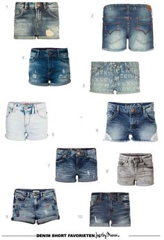 The best denim short