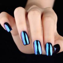 Glamour Chrome Nails Trends 2017 7