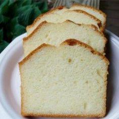 Grandmothers Pound Cake II - Allrecipes.com