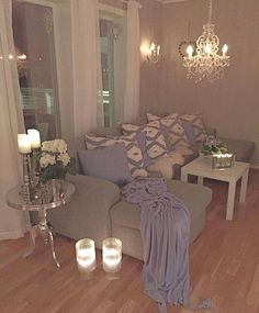 Most Inspirational: 80 Stunning Small Living Room Decor Ideas For Your Apartment - Home Decor Apartments Small Living, Home And Living, Cozy Living, Modern Living, Deco Design, Home And Deco, My New Room, House Rooms, Cozy House