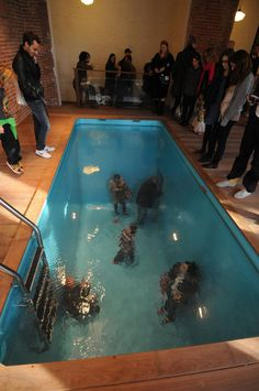 Leandro Erlich, Swimming Pool, 2004, The 21st Century of Art of Kanazawa, Permanent Collection.