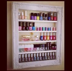 Nail Polish Glasses Frame : 1000+ images about My future salon! on Pinterest Salons ...