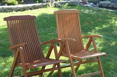 Harsh UV light from #California sunshine the occasional downpour or morning moisture and stains from regular use cause your teak furniture to turn GREY ROUGH and MOLDY! Its unavoidable. Your #teakfurniture is made from the most durable teak wood on earth but it's still no match for the elements. Given a year or two of exposure to our harsh conditions your outdoor teak begins to show signs of wear. Suddenly your patio furniture doesn't look the way it did when you first purchased it. You know…