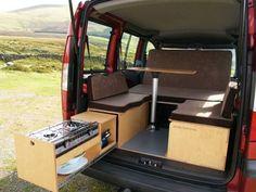 Image result for slide out kitchen back of van