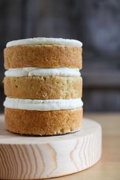 Naked Lemon Layer Cake recipe and tutorial | Simple Bites