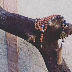 "🌕 Mångata Malas 🌕 ~ Honesty Mala ~ ""Honesty and transparency make you vulnerable, be honest and transparent anyway"" - #motherteresa . PM me for catalog and price 💕 . #mangatamalas #meditation #malabeads #rudraksha #gemstones #handicraft #handmadejewelry #boho #spiritual #bohemianstyle #lifestyle #yogainspiration #swedishgirl #france #paris #bali #jewelry #namaste #nature #love #handmade"