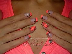 Neony once again this year - Nail Art Gallery | See more nail designs at http://www.nailsss.com/french-nails/2/