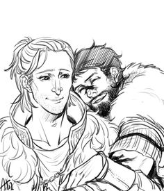 frikadeller:  I think Anders and purple!Hawke are very adorable,...