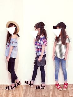 Girly Outfits, Kids Outfits, Ootd Teen, Diy Fashion, Womens Fashion, Future Daughter, Kid Styles, Kids Wear, Diy Clothes