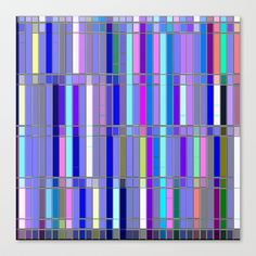 Re-Created CornerStone3-20-14 #Stretched #Canvas by #Robert #S. #Lee - $85.00