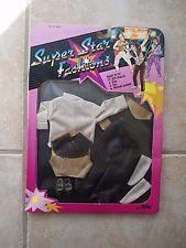 80s Vintage Barbie Ken clone doll Super Star Fashion outfit Michael Jackson NRFB