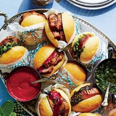 Make-Ahead Kentucky Derby Menu: Pork Tenderloin Sliders
