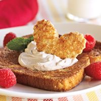 French Toast Hearts is the perfect way for you to show Mom you love her this Mother's Day
