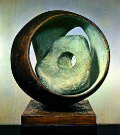 Barbara Hepworth - Sphere with Inner Form (1963).