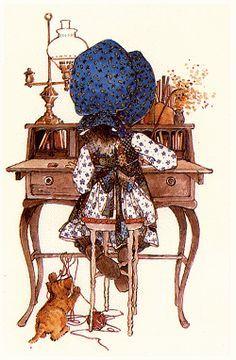 Betsey Clark, Holly Hobbie, Sarah Kay e outros Holly Hobbie, Hobbies For Women, Hobbies To Try, Illustrations, Illustration Art, Foto Transfer, Dibujos Cute, Hobby Horse, Paper Dolls