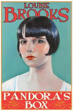 Louise Brooks Pandora's Box poster