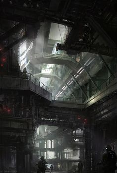 Factory Search, James Paick on ArtStation at http://www.artstation.com/artwork/factory-search