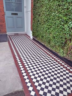 Images About Path And Front Garden On Pinterest - garden tiles design