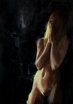Oil on canvas 100x70 cm - untitled - Elia Bonetti