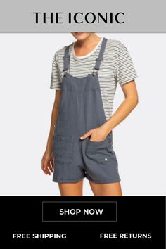 Womens Compass Direction Linen Dungaree Shorts Dungarees Shorts, Sports Brands, Viscose Fabric, Female Athletes, Overall Shorts, Compass, Shop Now, Shopping, Women