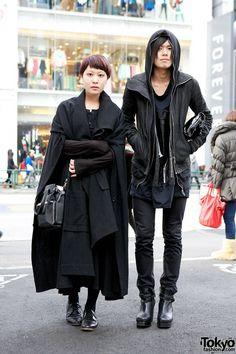 Japanese avant garde. Shop for quality vintage black clothes from http://blackmarketvintage.co.uk