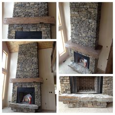 Love our fireplace!