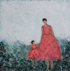 Mother & Daughter painting.