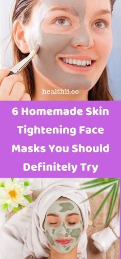 6 Homemade Skin Tightening Face Masks You Should Definitely Try - Healthli Ibiza, Endocannabinoid System, How To Make Money, Make Up, Group Boards, Skin Tightening, Face Masks, Just In Case, Bodybuilding Motivation