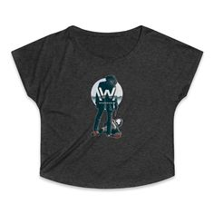 Westworld Movie CWomen's Tri-Blend Dolman T-Shirt Westworld Movie, Sweatshirts, Sweaters, Mens Tops, Cotton, Movies, T Shirt, Women, Fashion