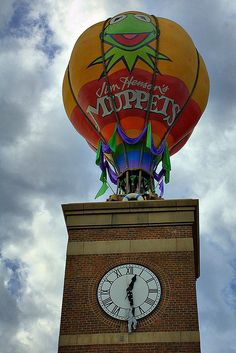 At Disney's Hollywood Studios, in the Streets of America there is a 3D movie called Muppet Vision 3D.