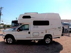 Provan Class C RVs for Sale in Colorado on RVT. Small Truck Camper, Small Trucks, Jeep Truck, Mini Motorhome, Motorhome Interior, Adventure Trailers, Adventure Campers, Small Rvs For Sale, Cool Rvs