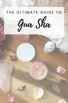 The Ultimate Guide to Gua Sha - Nutri Beauty with Danielle Daly Gua Sha Massage, Face Massage, Beauty Bar, Diy Beauty, Beauty Tips, Gua Sha Facial, Lymphatic Drainage Massage, Gua Sha Tools, Face Yoga