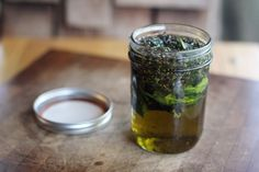 Delightfully Tacky: Lavender Mint Infused Olive Oil