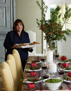 ina garten's make ahead steps/tips to a great dinner party