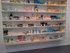 Frieze Fair: Damien Hirst, Pharmacy, circa 1992, offering $5,000,000 @ White Cube