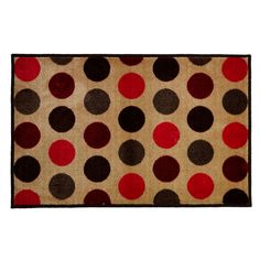 Homebase Decorative Rubber Half Moon Mat 7 99 Home