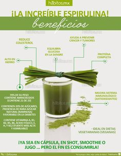 Hábitos Health Coaching | BENEFICIOS DE LA ESPIRULINA