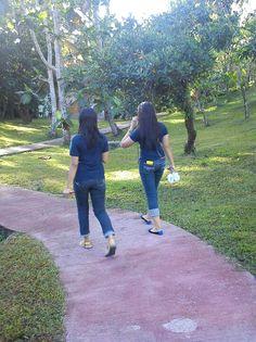 Morning walk at camp benjamin:)